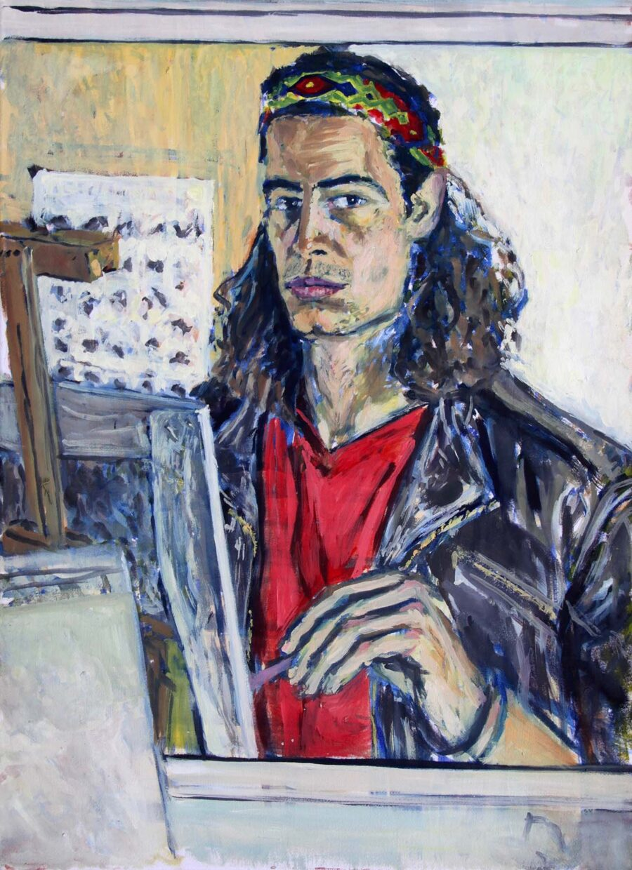Gabriel Kessler Selbstportrait